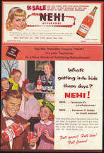 #SOZ084 - Large Foldout Nehi Coupon Brochure
