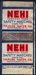 #SOZ115  - Nehi Safety Match Box Wrapper