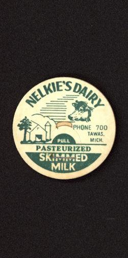 #DC138 - Nelkie's Dairy Pasteurized Skimmed Milk Bottle Cap