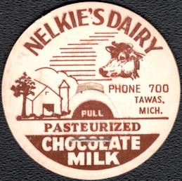 #DC207 - Nelkie's Dairy Chocolate Milk Bottle Cap