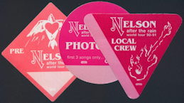 ##MUSICBP0186 - Nelson Cloth OTTO Backstage Pass from the 1990/91 After the Rain World Tour - as low as $2 each