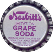 #BC053 - Group of 10 Nesbitt's Grape Soda Caps
