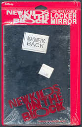 ##MUSICBG0082  -  Licensed Magnetic Back New Kids on the Block Locker Mirror - As low as $2 each