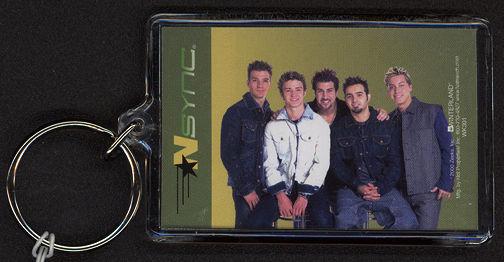 ##MUSICBG0044 - NSync Licensed Keychain