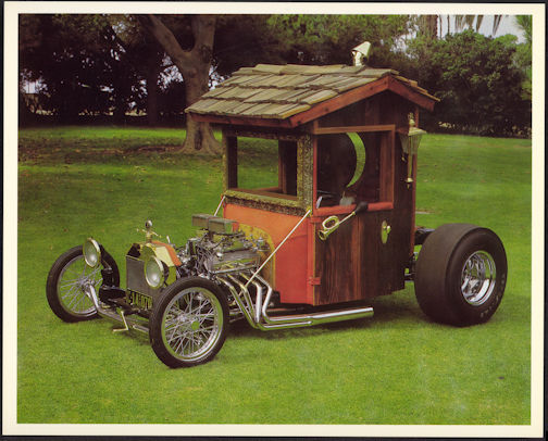 #MS257 - 1969 Outhouse Show Car Print - Jay Ohrberg