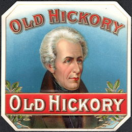 #ZLSC06 - Old Hickory (President Andrew Jackson) Outer Cigar Box Label