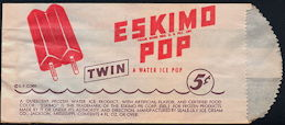 #PC103 - Eskimo Pop Popsicle Bag - Eskimo Pie