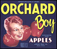 #ZLC243 - Orchard Boy Apple Crate Label