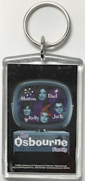 ##MUSICBG0126 - Licensed Keychain from the Osbourne Family TV Show