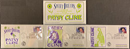 ##MUSICBG0117 - Large Foldout Patsy Cline First Day Stamp Cover Booklet