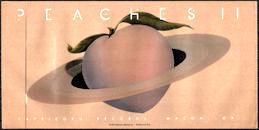 ##MUSICBG0147 - Large Oversized Super Rare Allman Brothers Peaches II Album Sticker
