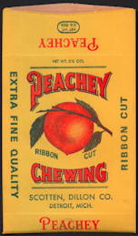 #TOP070 - Peachey Chewing Tobacco Bag