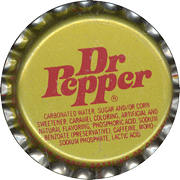 #BC059 - Group of 10 Dr Pepper Soda Bottle Caps