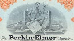 #ZZCE074 - Perkin-Elmer Stock Certificate