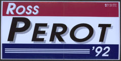 #PL291 - Group of 12 Ross Perot '92 Bumper Stickers