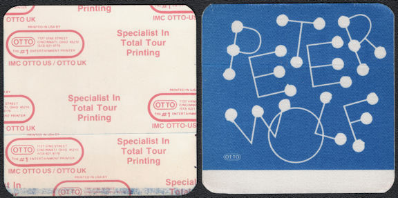 ##MUSICBP0707 - Peter Wolf (J. Geils Band) OTTO Cloth Backstage Pass from the 1984 Lights Out Tour