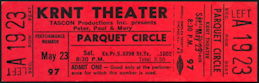 ##MUSICBP0448 - 1970 Peter, Paul & Mary Ticket from the KRNT Theater