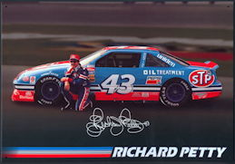 #CA109 - Large Richard Petty Licensed Metal Sign - As low as $3.50 each