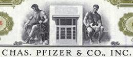 #ZZCE046 - Chas. Pfizer & Co. Inc. Stock Certificate