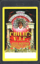 ##MUSICBP0862 - 1995 Monsters of Rock OTTO Laminated Backstage Pass - Ozzy, Alice Cooper