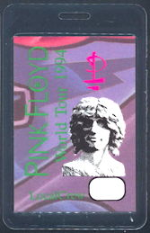 ##MUSICBP0166 - Scarce Pink Floyd OTTO Laminated Backstage Pass from the 1994 World Tour - As low as $5 each