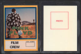 ##MUSICBP0077  - Pink Floyd OTTO Backstage pass from the Another Lapse Tour