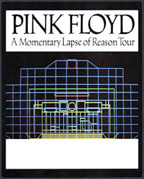 ##MUSICBG0133 - Pink Floyd OTTO  Door Sign from the 1987 A Momentary Lapse of Reason Tour