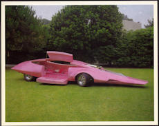 #MS256 - 1969 Pink Panther Limousine Show Car Print - Jay Ohrberg
