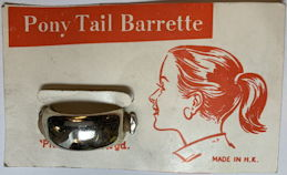 #CS410 - Carded Pony Tail Barrette
