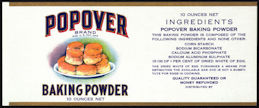 #ZLCA209 - Uncommon Popover Baking Powder Canister Label
