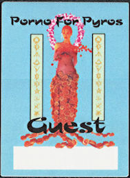 ##MUSICBP0703 - Porno for Pyros OTTO Cloth Backstage Pass from the 1996 Good God's Urge Tour