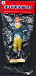 #PL340.1 - Dimestore President Figure in Original Packaging