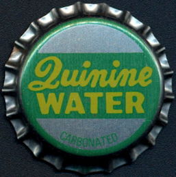#BC192 - Group of 10 Quinine Water Plastic Lined Soda Bottle Caps