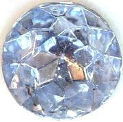 #BEADS0453 - Sapphire Blue Glass 14mm Rhinestone - As low as 20¢ each