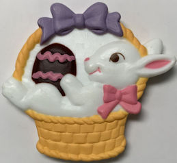 #HH219 - Group of 2 Large Easter Rabbit Magnets