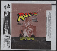 #ZZA231 - Raiders of the Lost Ark Pack Wrapper