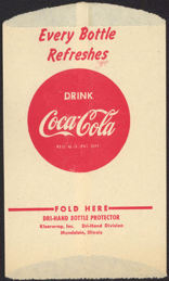 #CC282 - Coca Cola Dry Server with Coca-Cola Button Logo