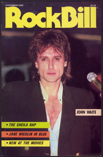 ##MUSICBG0051 - November 1985 RockBIll Magazine - John Waite Cover