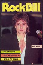 ##MUSICBG0051 - November 1985 RockBIll Magazine - John Waite Cover