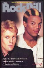 ##MUSICBG0054 - July 1984 RockBIll Magazine - General Public Cover