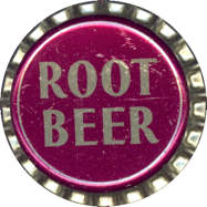 #BC056 - Group of 10 Very Old Cork Lined Root Beer Soda Caps