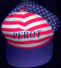 #PL289 - Ross Perot Adjustable Size Baseball Type Cap from the 1992 Election