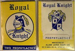 #CS412 - Full Box of Royal Knight Prophylactics