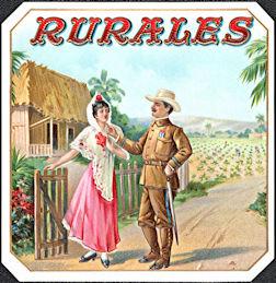 #ZLSC108 - Rurales Outer Cigar Box Label - Policeman