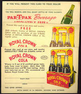 #SOZ093  - Group of 3 Different Royal Crown Cola Coupons