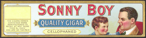 #ZLSC069 - Sonny Boy Cigar Box Label