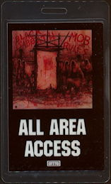 "##MUSICBP0471 - Black Sabbath Laminated OTTO Backstage Pass from the ""Mob Rules"" Tour"