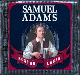 #ZLBE106 - Samuel Adams Boston Lager Beer Label