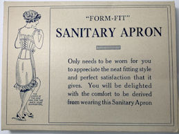 #CS283 - Circa 1900 Form-Fit Sanitary Belt Box
