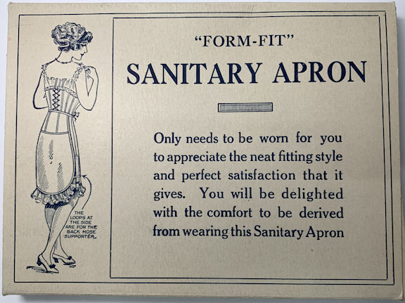 #CS283 - Circa 1900 Form-Fit Sanitary Belt Box